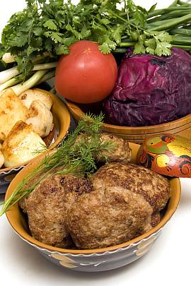Ground pork cutlets (kotlety mielone)